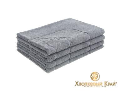 полотенце-коврик для ног 50х70 см графит, фото 3