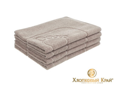 полотенце-коврик для ног 50х70 см кофе, фото 3