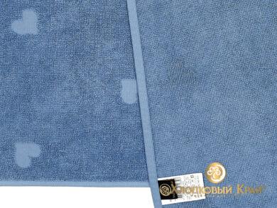 Полотенце банное 70х140 см Амор деним, фото 10