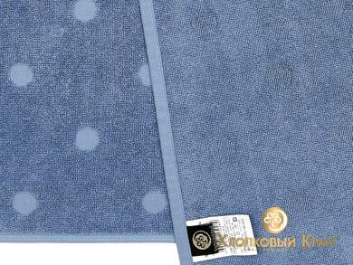 Полотенце банное 70х140 см Бон Пари деним, фото 10