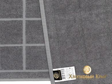 Полотенце банное 70х140 см Клетка графит, фото 10