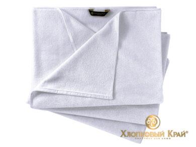 Полотенце банное 70х140 см белое отельное, фото 2