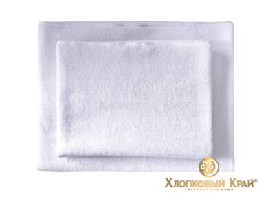 Полотенце банное 70х140 см белое отельное, фото 4