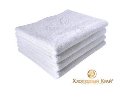 полотенце для лица 50х100 см белое отельное, фото 2