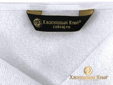 полотенце для лица 50х100 см белое отельное, фото 6
