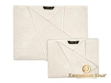 полотенце для лица 50х100 см Амор молоко, фото 2