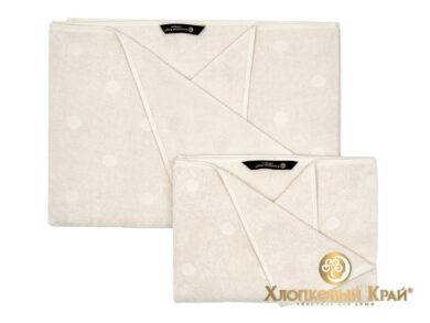 полотенце для лица 50х100 см Бон пари молоко, фото 2