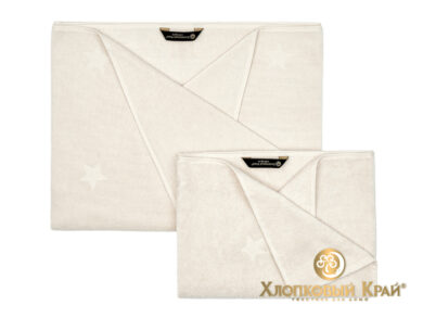 полотенце для лица 50х100 см Монамур молоко, фото 2