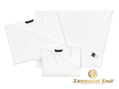 полотенце банное 70х140 см Амор белый, фото 2