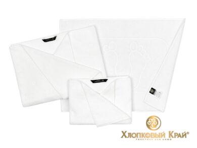 Полотенце банное 70х140 см Бон Пари белый, фото 2
