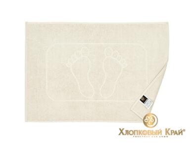 полотенце-коврик для ног 50х70 см молоко, фото 2