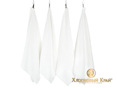 Полотенце банное 70х140 см Бон Пари белый, фото 3