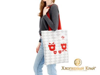 Сумка-шоппер 40*45см Спартак Family look, фото 3