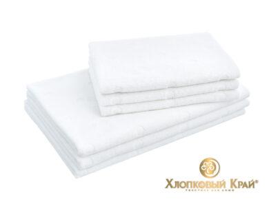 Полотенце банное 70х140 см Бон Пари белый, фото 4