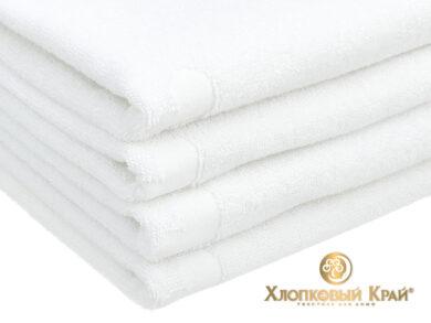 полотенце банное 70х140 см Амор белый, фото 5