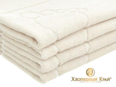 полотенце-коврик для ног 50х70 см молоко, фото 5