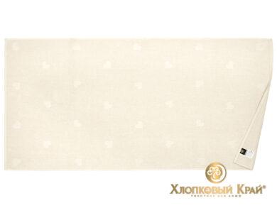 Полотенце банное 70х140 см Амор молоко, фото 6