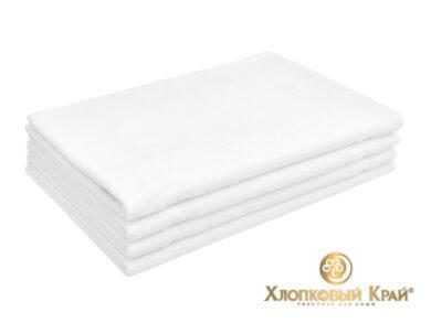 полотенце банное 70х140 см Амор белый, фото 7