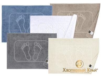 полотенце-коврик для ног 50х70 см молоко, фото 7