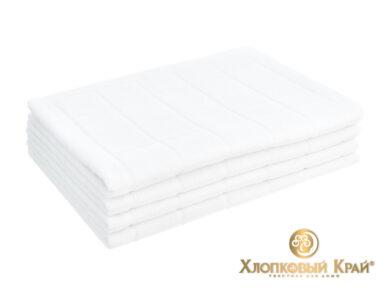 Полотенце банное 70х140 см Клетка белый, фото 7