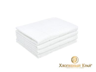 полотенце для лица 50х100 см Клетка белый, фото 2