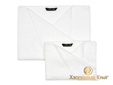 полотенце для лица 50х100 см Амор белый, фото 3