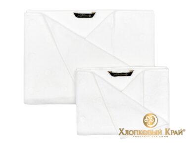 полотенце для лица 50х100 см Бон пари белый, фото 3