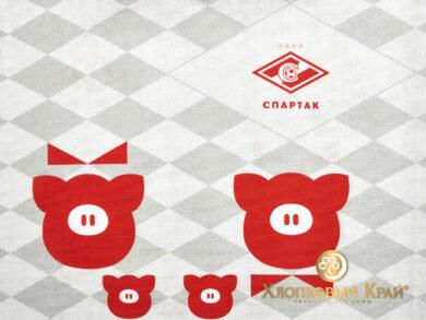 Сумка-шоппер 40*45см Спартак Family look, фото 9
