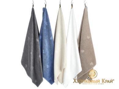 полотенце для лица 50х100 см Амор белый, фото 4