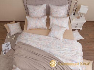 плед-покрывало на кровать Классик беж 220*260см, фото 14