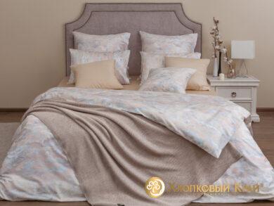 плед-покрывало на кровать Классик беж 220*260см, фото 15