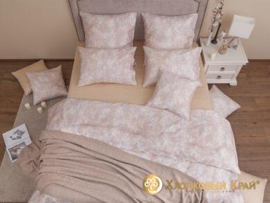 плед-покрывало на кровать Гранж беж 220*260см, фото 14