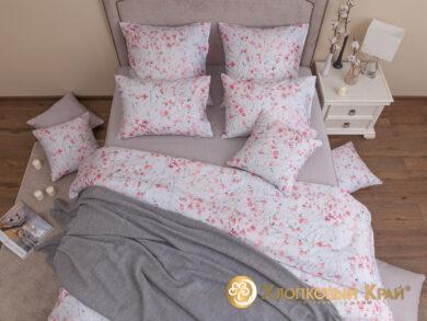 плед-покрывало на кровать Эко серый 220*260см, фото 15