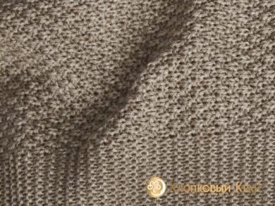 плед-покрывало на кровать Эко беж 220*260см, фото 8