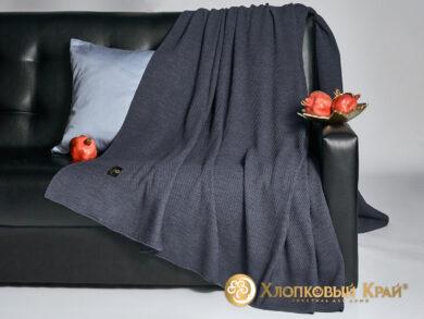 плед-покрывало на кровать Эко деним 220*260см, фото 4