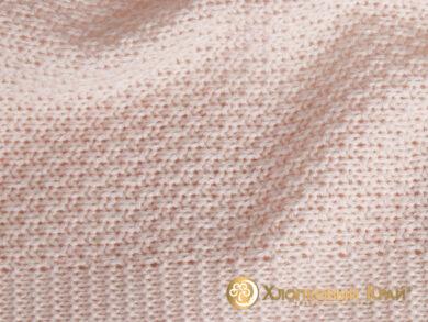 плед-покрывало на кровать Эко пудра 220*260см, фото 7
