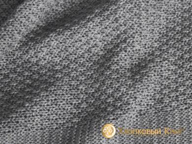 плед-покрывало на кровать Эко серый 220*260см, фото 8