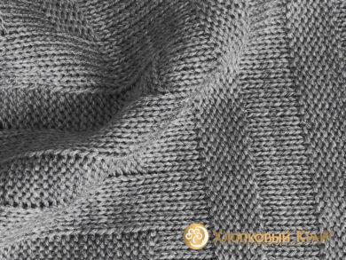 плед-покрывало на кровать Гранж серый 220*260см, фото 8