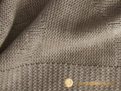 плед-покрывало на кровать Классик беж 220*260см, фото 8