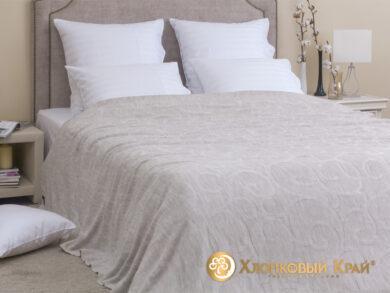 плед-покрывало на кровать Классик лен 220*260см, фото 3