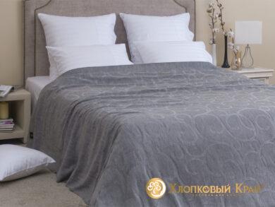 плед-покрывало на кровать Классик серый 220*260см, фото 3