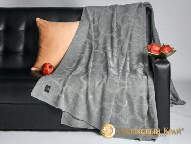 плед-покрывало на кровать Классик серый 220*260см, фото 4