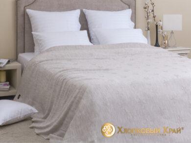 плед-покрывало на кровать Лаунж лен 220*260см, фото 3