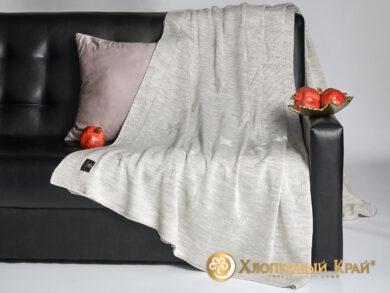 плед-покрывало на кровать Лаунж лен 220*260см, фото 4