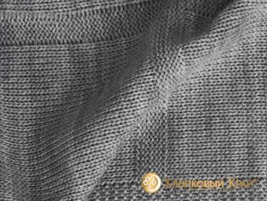 плед-покрывало на кровать Лофт серый 220*260см, фото 8