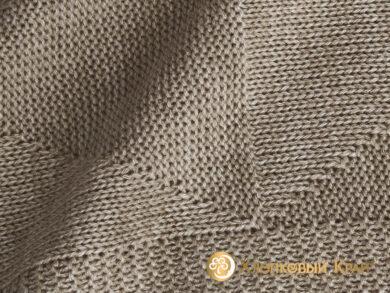 плед-покрывало на кровать Сканди беж 220*260см, фото 8