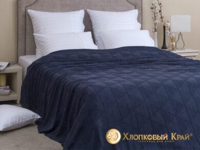 плед-покрывало на кровать Сканди деним 220*260см, фото 3