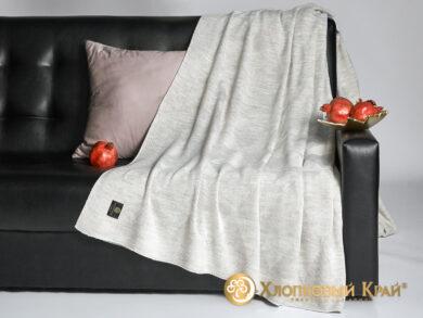 плед-покрывало на кровать Сканди лен 220*260см, фото 4