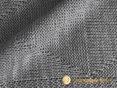плед-покрывало на кровать Сканди серый 220*260см, фото 8