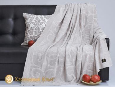 плед-покрывало на кровать Классик лен 180*220см, фото 4